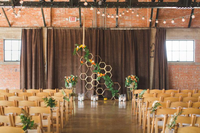 Hickory Street Annex wedding ceremony