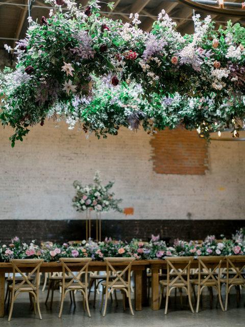 Dallas TX event design for wedding reception